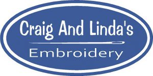 Craig and Linda's Embroidery logo